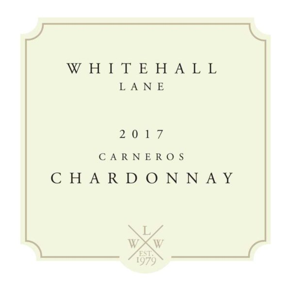Whitehall Lane Chardonnay Label